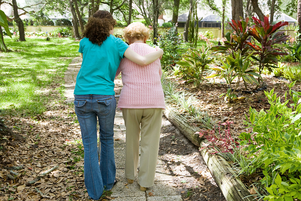 Online training for caregivers