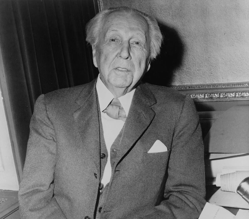 the early childhood and career of frank lloyd wright Who the hell were frank lloyd wright and le early years frank lloyd wright and charles you can blame frank) jeanneret's early career was put on hold.