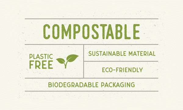 Compostable.