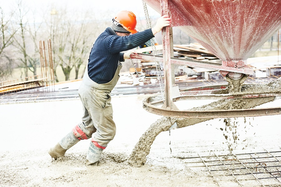 5 tips for pouring concrete in cold weather pdh academy for Best temperature to pour concrete
