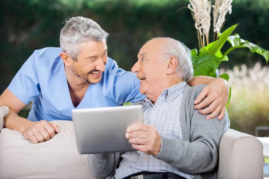 Help seniors connect