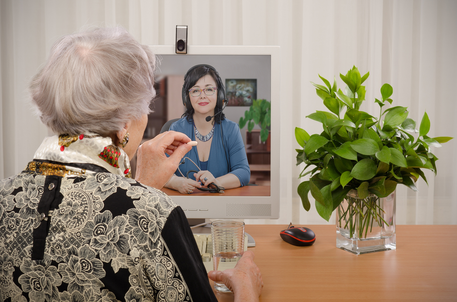 Telemedicine and alzheimer's