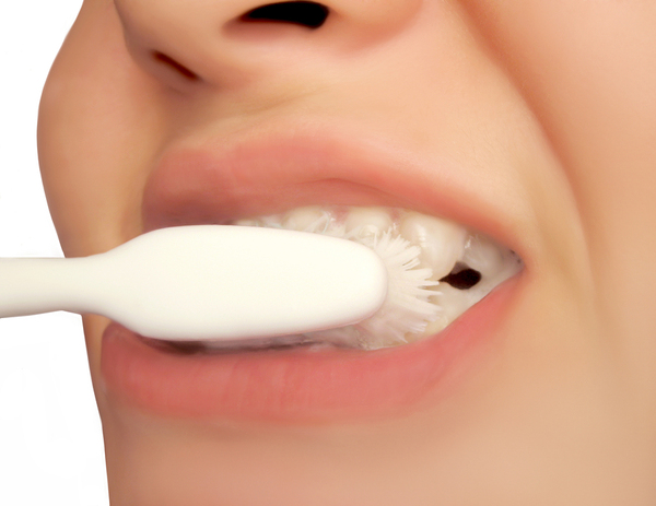 Brushing too hard can cause receding gums.