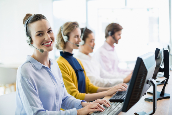 Business answering service using high HIPAA compliant technology