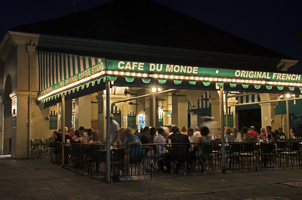 Cafe De Monde New Orleans French Quarter