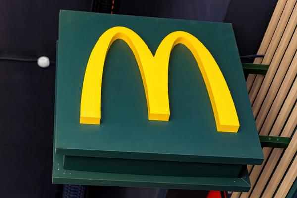 McDonalds sign.