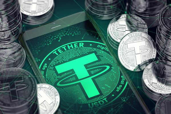 Tether logo.
