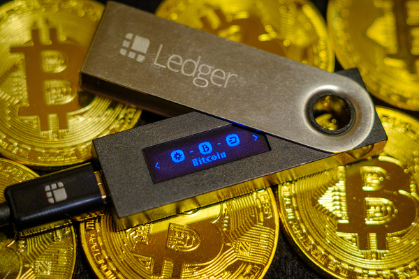 Ledger hardware wallet.