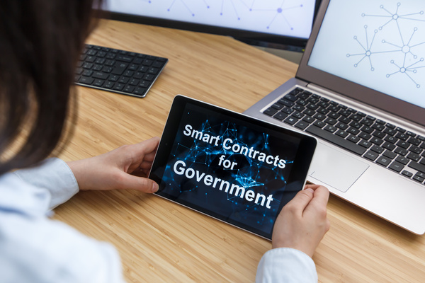 Smart contracts for government.