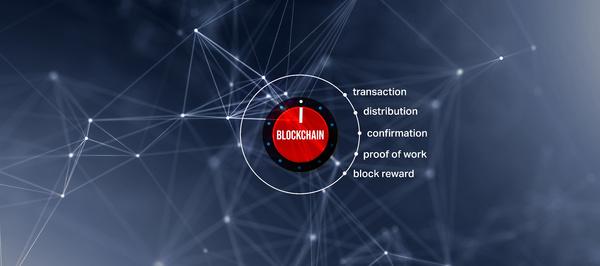 Blockchain dial.
