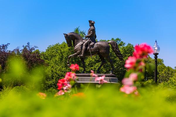 Paul Revere statue.