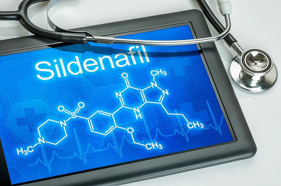 Sildenafil molecular formula.