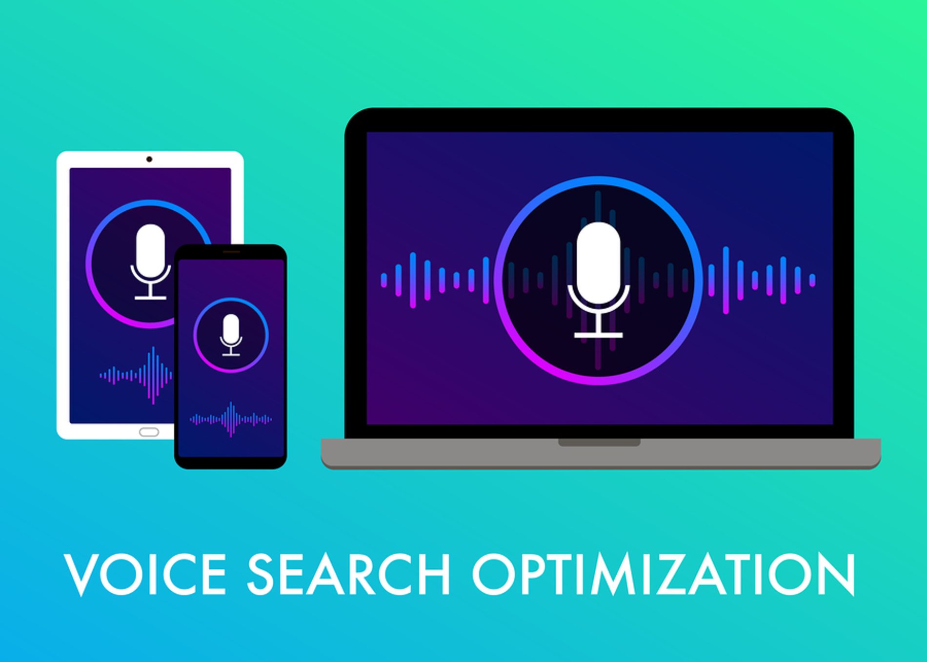 Voice search optimization.