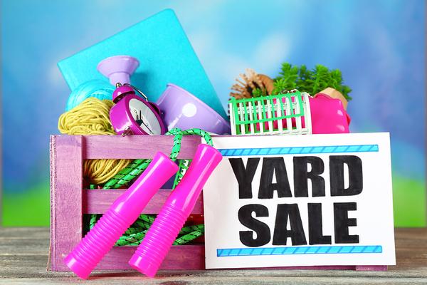 perfect yard sale