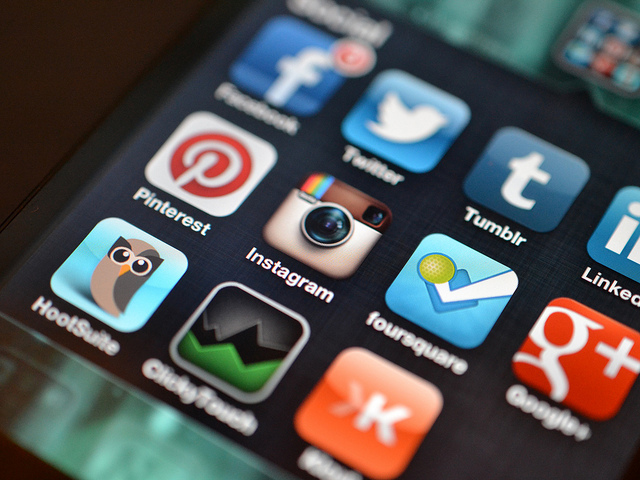 Inbound marketing is not just about content on your website or blog, but also in Social Media