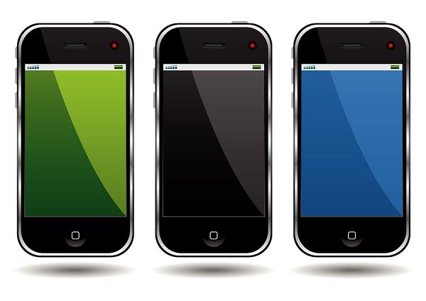 Three phones.