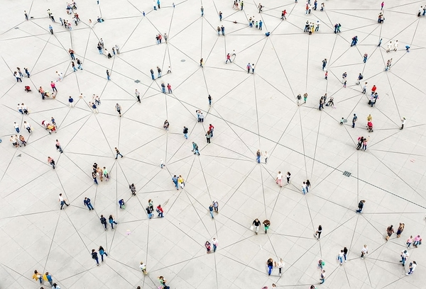 Network of people.