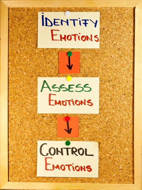 identify emotions, assess emotions and control emotions.