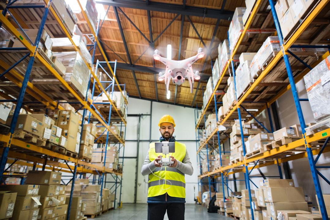 Future of drones in logistics