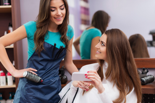 How to get a job in a salon