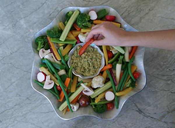 Healthy Summer Snack: Crunchy Vegetables