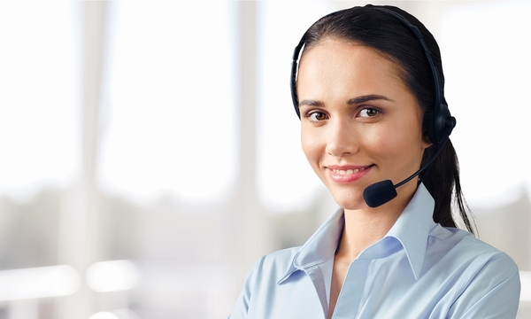 Answering service representative