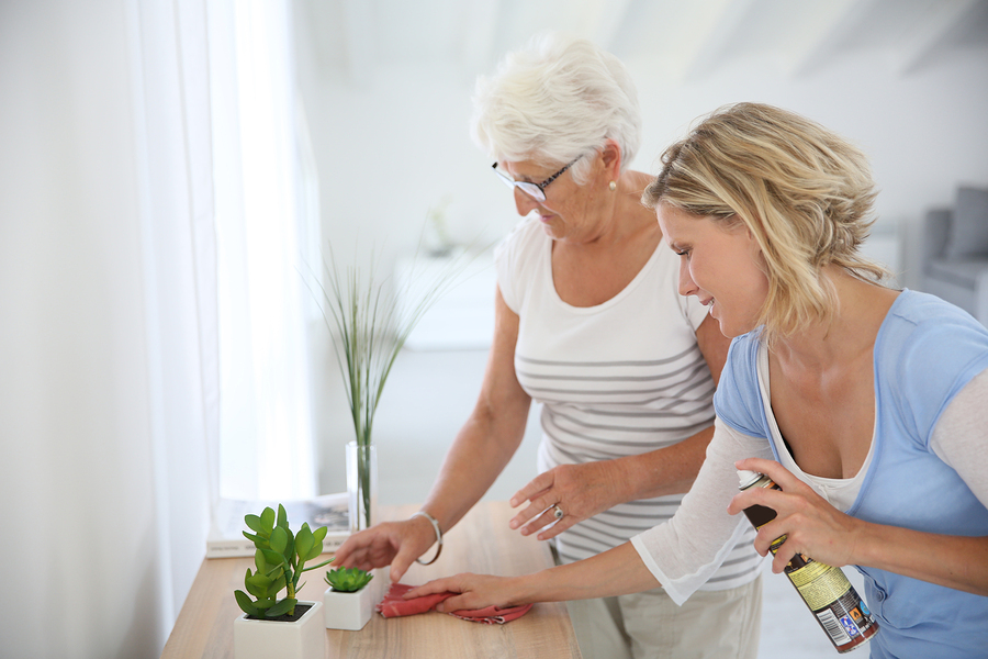 Spring Cleaning Tips for Seniors and Their Caregivers