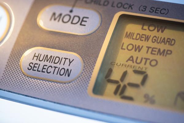 Temperature and humidity sensor.