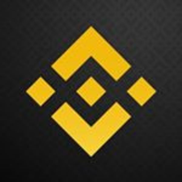 Binance logo.