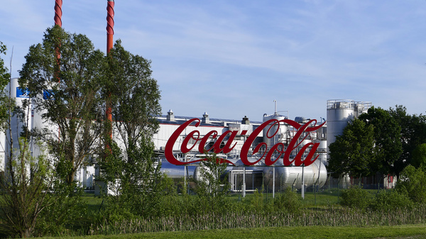 Coca-Cola plant.