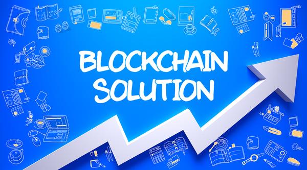 Blockchain solution.