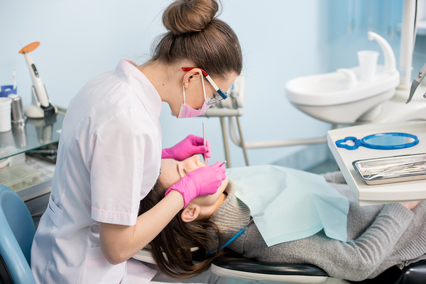 General dentists take care of your cleanings and checkups.