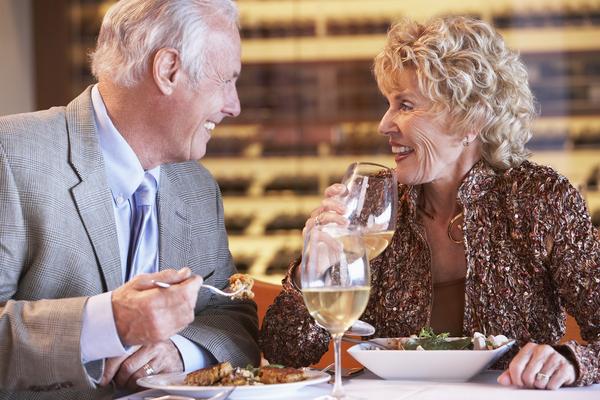 senior dating - no dinner just sex?