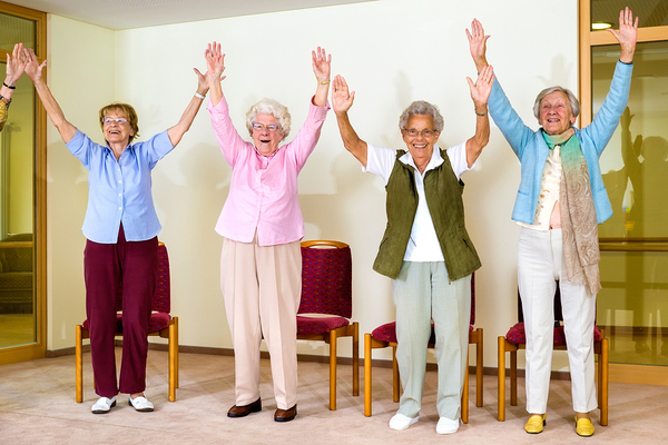 Reduce falls for seniors