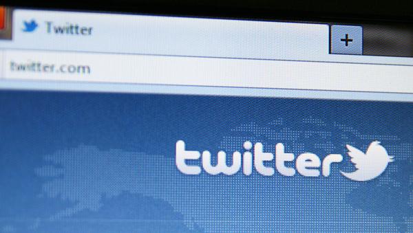 Twitter home screen on a desktop.