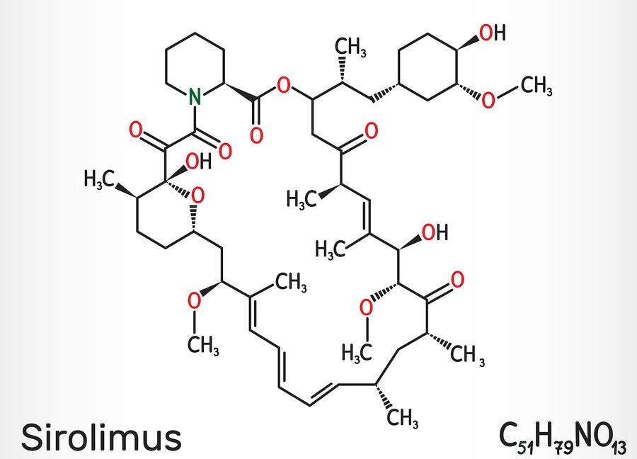 Sirolimus molecule