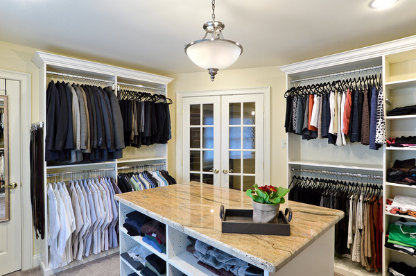 custom closet design process