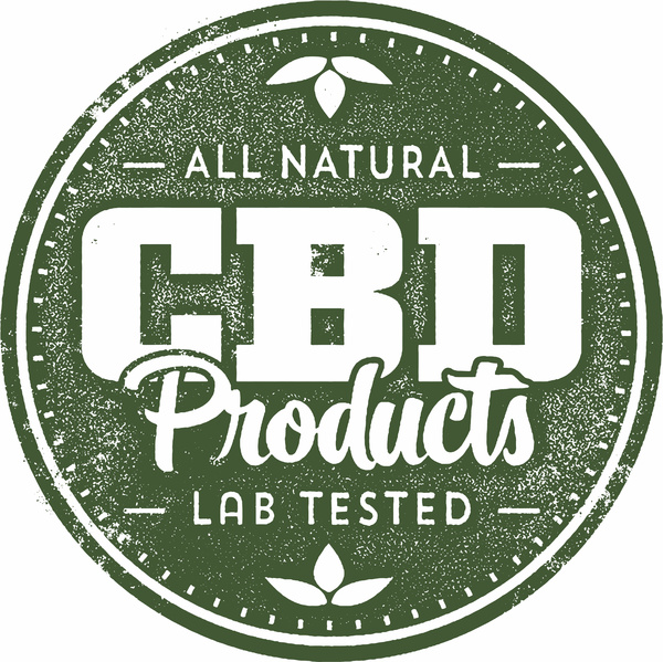 All natural CBD products label.