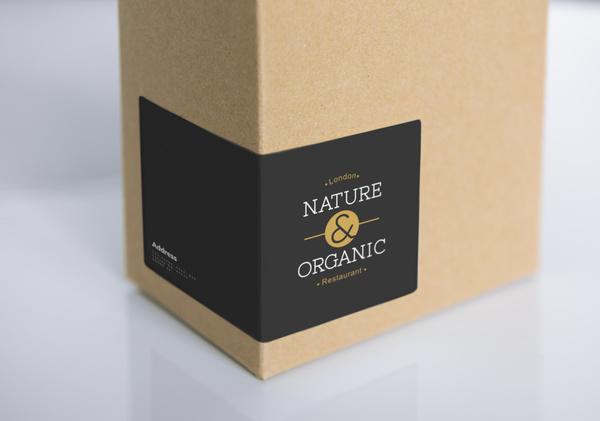 Plain brown packaging.