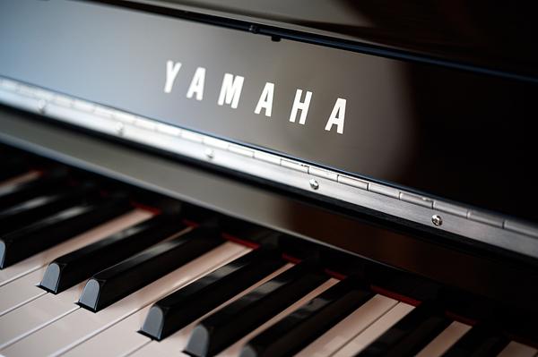 Yamaha piano.