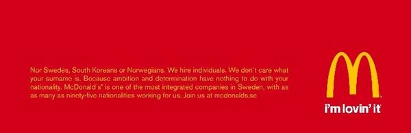 Creative recruitment