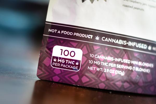 Cannabis package.