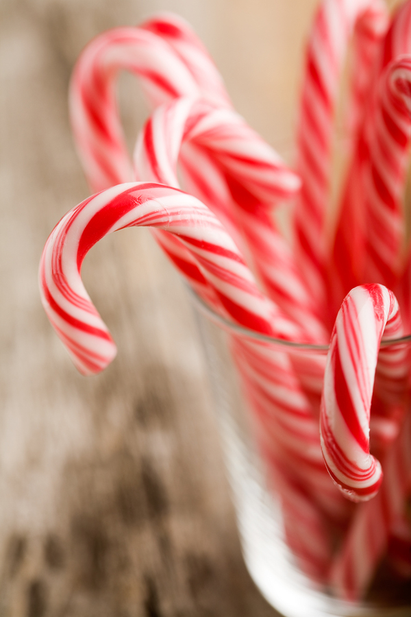 Candy canes can wreck havoc on your teeth!