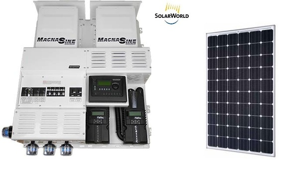 In The Larger Kit Category U2013 Beyond Cabin Grade U2013 Comes Wholesale Solaru0027s  Lodge Off Grid Solar System, Which Provides 6.84kW Of Juice.