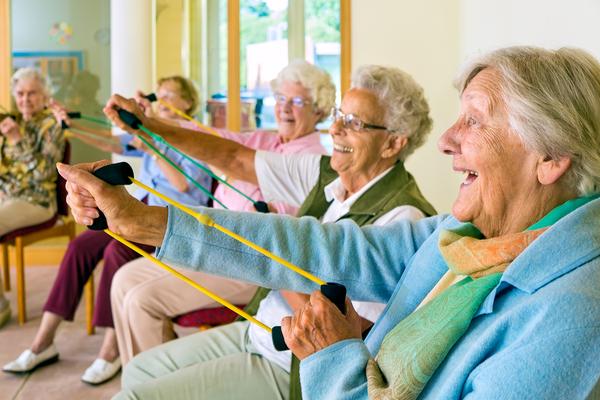Seniors only fitness centers