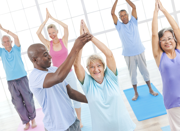 Seniors only fitness centers