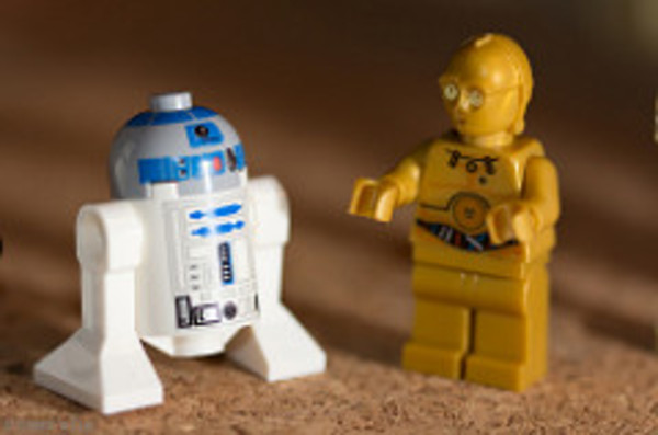 Lego R2D2 and C3PO. If you buy a Lego set on Amazon, Amazon will suggest more Lego sets, because personalized CTAs drive sales conversions.