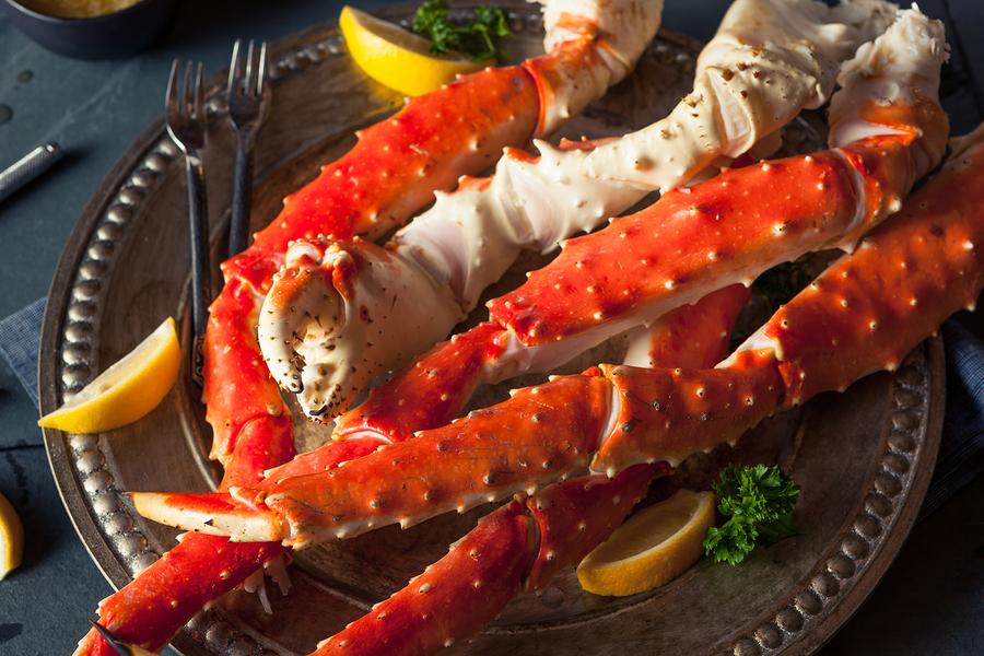 Alaskan seafood adventure