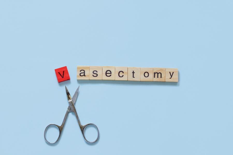 Vasectomy.
