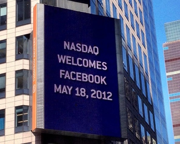 When did facebook go ipo